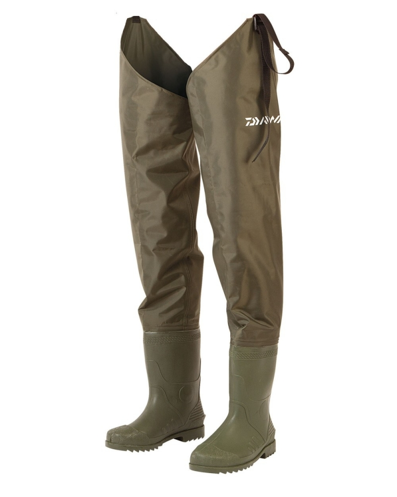 Daiwa endura hip waders for Hip boots for fishing