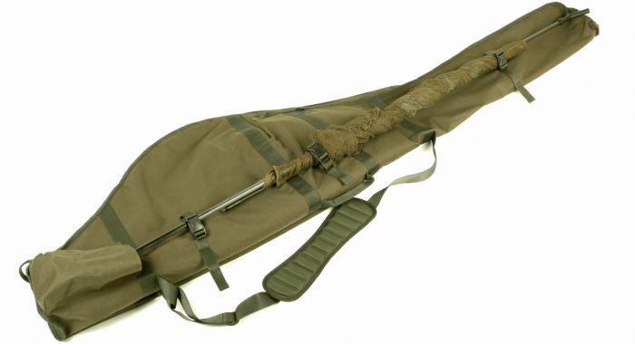 Nash h gun 5 rod skin luggage bobco fishing tackle leeds for Gun fishing rod